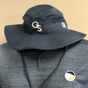 The Game Navy Boonie Hat with White GS | Georgia Southern Apparel | TrueGSU